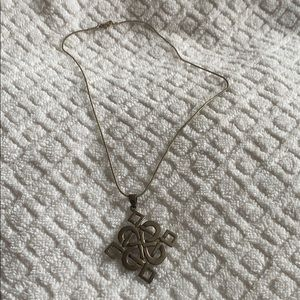 Jewelry - Celtic symbol sterling silver pendant